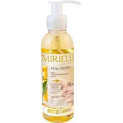 Гель-пенка для комбинированной кожи с эфирными маслами лимона и апельсина и розовой водой