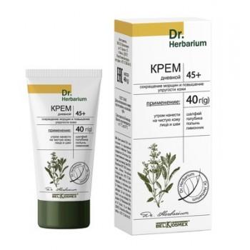 Крем дневной 45+ сокращение морщин и повышение упругости кожи Dr.Herbarium