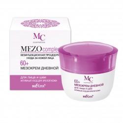 Мезокрем дневной для лица и шеи 60+ Активный уход для зрелой кожи