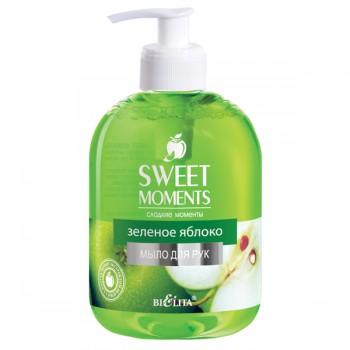 """Жидкое мыло SWEET MOMENTS """"Зеленое яблоко"""""""