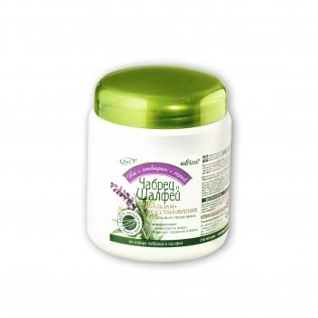 Бальзам-восстановление чабрец и шалфей для всех типов волос