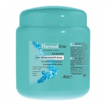 Бальзам на термальной воде «Тройной эффект» для всех типов волос 450 мл