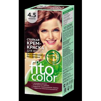 Стойкая крем-краска для волос FitoColor (цвет махагон)