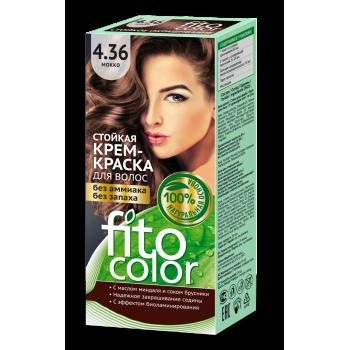 Стойкая крем-краска для волос FitoColor (цвет мокко)
