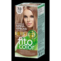 Стойкая крем краска для волос (цвет светло-русый) FitoColor