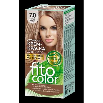 Стойкая крем краска для волос  FitoColor (цвет светло-русый)
